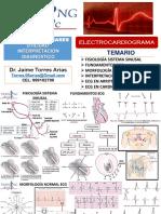 EXÁMENES AUXILIARES - ELECTROCARDIOGRAMA