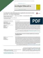 La evaluación multiinformante de la regulación emocional