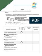 B Jornada SEOS de Evaluación Institucional 2019- Guía de actividades