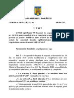 Lege Zile Libere - La Promulgare