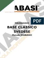 DISPENSA CORSO MASSAGGIO BASE