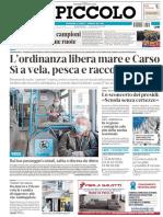 Il Piccolo Trieste 5 Maggio 2020