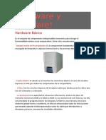 hardware y software básico