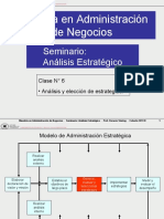 01 UTN Análisis estratégico. Clase 6