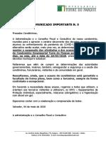 EMPRESARIAL TORRE DO PARQUE - COMUNICADO IMPORTANTE N. 5