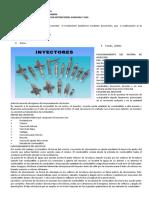 INFORME  DE INYECTORES