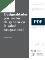 Piroska Östlin - Desigualdades por razon de genero en la salud ocupacional-Pan American Health Organization (2001)