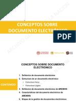 Conceptos de Documento Electronico