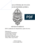 ADA 6. Polinomios interpolantes RESUELTA