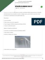 Como Resetear La Contraseña en Windows 2008 R2