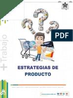Material de apoyo. ESTRATEGIAS DE PRODUCTO