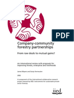 Company Community Forestry Partnership