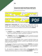 CARTA DE CESSÃO