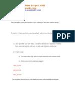 Driver Script to Run Multiple QTP Scripts