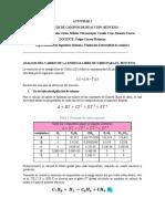 ANALISIS DEL CAMBIO DE LA ENERGIA LIBRE DE GIBBS PARA EL BENCENO (1)
