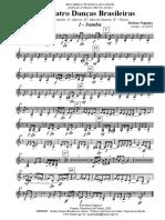 Quatro Dancas - 009 Clarineta Baixo (D)