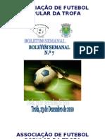 Boletim Semanal N.º 7 2010-2011