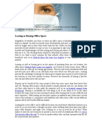 Leasing or Buying Office Space