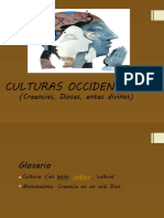 CULTURAS OCCIDENTALES