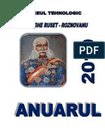 ANUAR 2019 Liceul Roznov