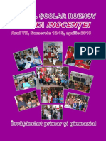 VARSTA INOCENTEI 12-13, 2009-2010 Liceul Roznov