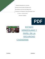 Sociedad democratica - El estado venezolano