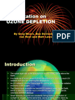 Presentation on Ozone Depletion