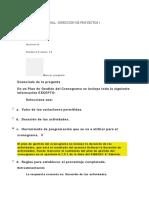 EVALUACION FINAL - DIRECCION DE PROYECTOS camilo