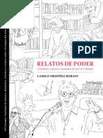 Camilo Ordonez Relatos de poder Curaduria contexto del arte en Colombia libro
