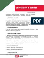 3 Invitación a cotizar DLTD_Luis Ramírez
