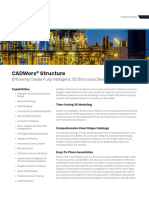 Hexagon PPM CADWorx Structure Product Sheet US
