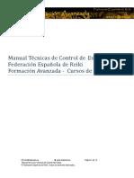 Manual Técnico de Control del Estres