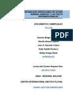 Ejercicios de Cotizacion, remision y orden de Compra