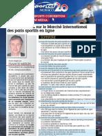 Octobre2009 Francis Merlin Etude Sur Les Paris en Ligne