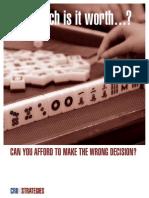CRU Strategies Valuation Brochure