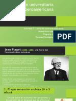 Actividad 2 - Teoría del constructivismo social diapositivas