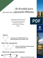 ARBOL DE EXPANSIÓN MÍNIMA KRUSKAL V.2
