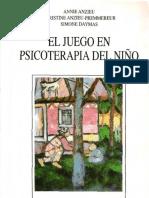 Annie Anzieu y otros. El juego en psicoterapia del niño.pdf