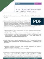 26- PASOS A SEGUIR EN LA REDACCIÓN DE LOS OBJETIVOS PARA LA PROGRAMACIÓN DIDÁCTICA _EP_