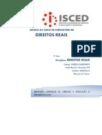 MAUNUAL DE DIREITOS REAIS ISCED  2017