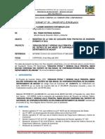 INFORME DE CONSISTENCIA DE PIP VIABLE Y EXP TEC - VIA CORPANQUI