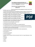 700 PRIMER EVALUACIÓN TRIMESTRAL JM 2020