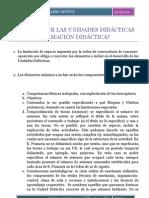 51- CÓMO INCLUIR LAS UNIDADES DIDÁCTICAS EN LA PROGRAMACIÓN DIDÁCTICA