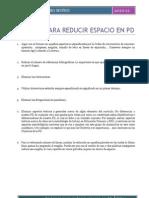 58- Crierios Para Reducir Espacio en La PD