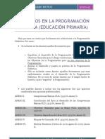 59- LOS ANEXOS EN LA PROGRAMACIÓN DIDÁCTICA _E. Primaria_