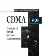 CDMA Principles of Spread Spectrum Communication