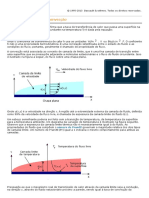 2012 SolidWorks - Coeficiente de calor de convecção