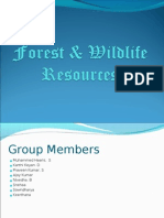Forest & Wildlife Resources
