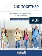 Maryland Together Recovery Plan for Education