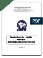 Norma de PROTECCION  Y SEGURIDAD RADIOLOGICA del ISSS